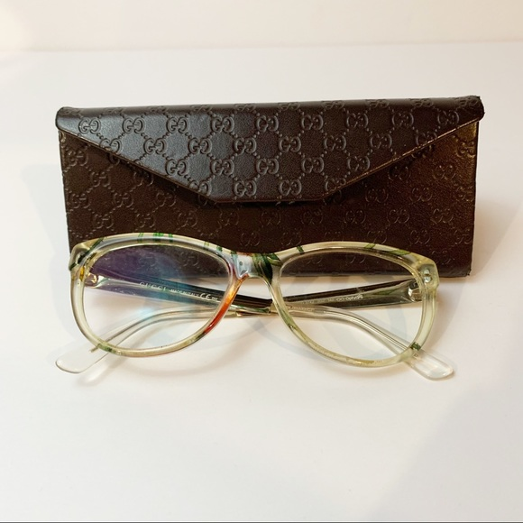 Gucci Eyeglasses Prescription Floral GG 3742